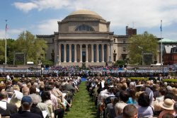 Columbia University graduation day. New York City 2005 (photo: unknown)