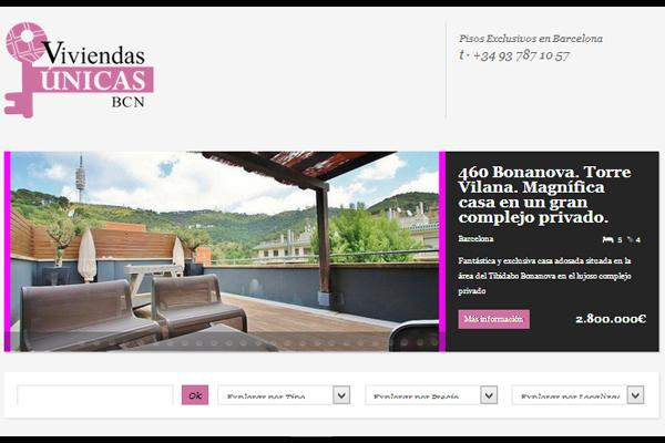La inmobiliaria viviendas nicas bcn gestiona viviendas de prestigio en barcelona elmundoempresa - Inmobiliaria la casa barcelona ...