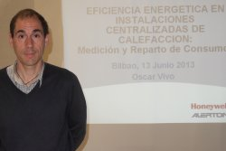 Oscar Vivo, responsable técnico de Honeywell en la zona norte (photo: )